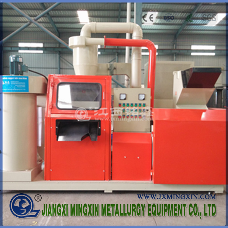 waste copper cable wire granulator recovery machine