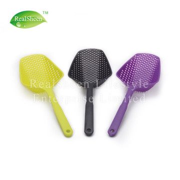 Unique Design Nylon Scoop Colander Strainer Spoon