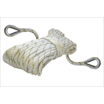 rope anchor with eye splice nylon double braided anchor rope