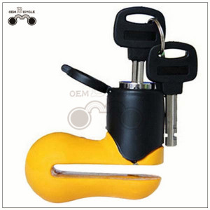 bicycle motor bike anti-theft disc brake wheel lock for sale