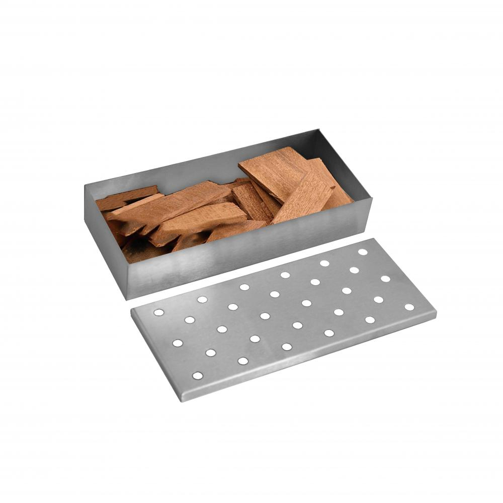 smoker box for BBQ grid wood chips
