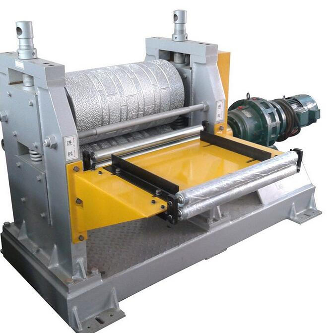 colored steel metal coils embossing machine line