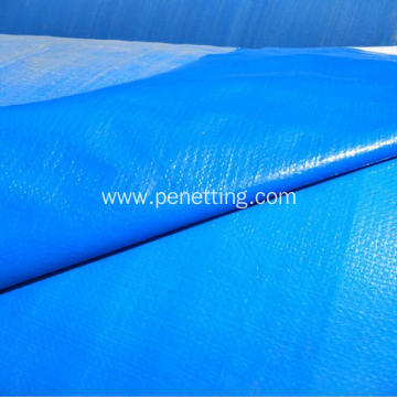 Tough re-usable waterproof PE tarpaulin cover