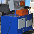 Tube closing machine pipe end locking machine