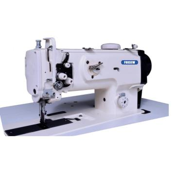 Single Needle Compound Feed Walking Foot Sewing Machine