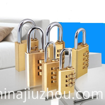 Brass Combination Lock