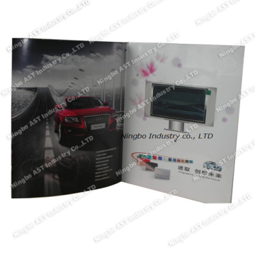 4.3 Inch video Brochure, LCD Video Brochure, Video Advertising Brochure