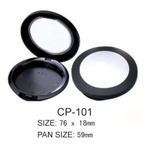 Factory Promotional for Round Cosmetic Compact Case Round Cosmetic Compact CP-101 supply to Tonga Manufacturer