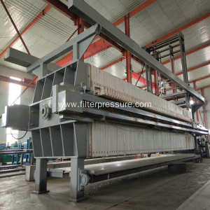 Hydraulic Chamber Filter Press For Chemical Industry