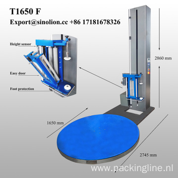 Turntable Pallet Packing Machine Pallet Wrapper