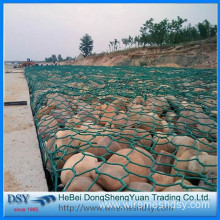 Supply 2x1x0.5 galvanized hexagonal gabion box
