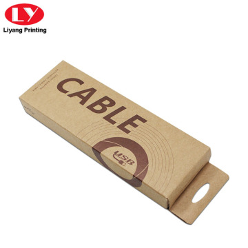 Cable Packaging Kraft Paper Hanging Box