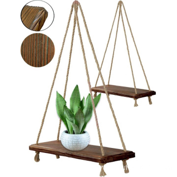 Swing Rope Wall display shelf