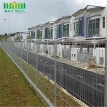 Welded Residential Roll Top Securiy Fence