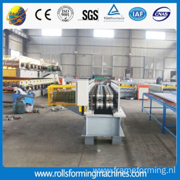 Staircase handrailing roll forming machine