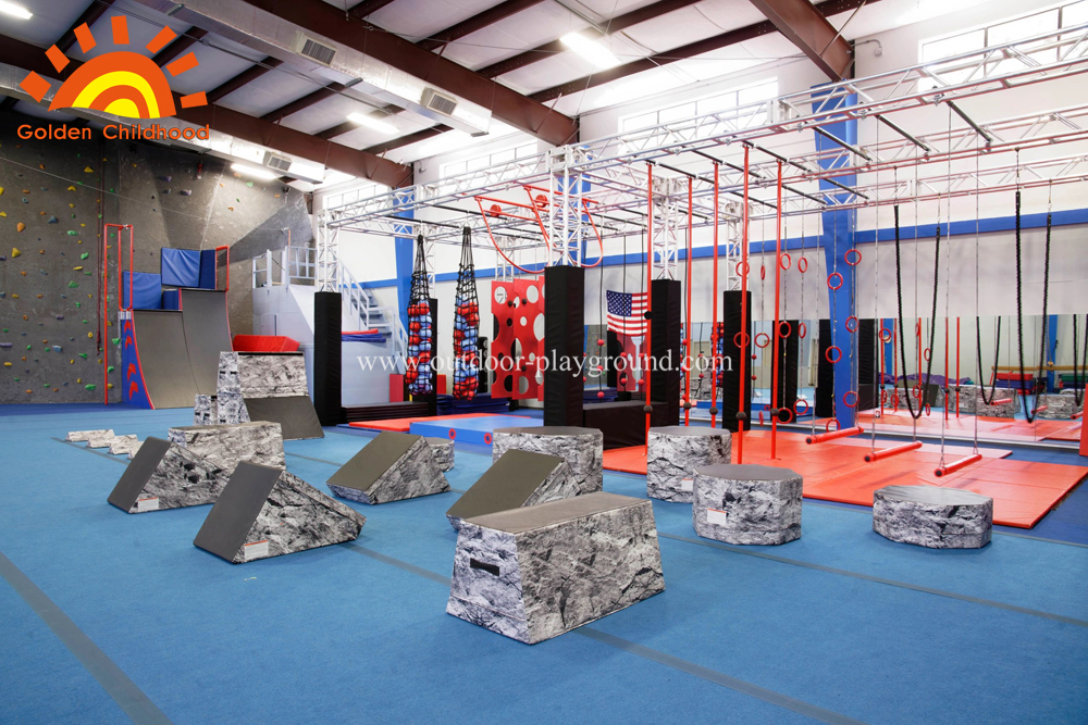Ninja Warrior Gym equipment