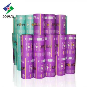 Flexible packaging rollstock roll film food packaging