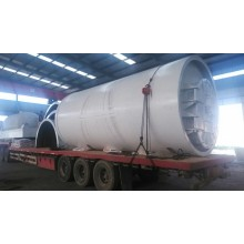 Good quality 100% for Tires Pyrolysis Machine scrap tire pyrolysis to fuel oil machinery export to Mongolia Manufacturers