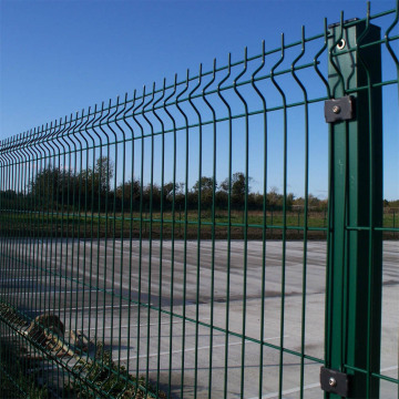 V Fold Welded Wire Mesh Fence