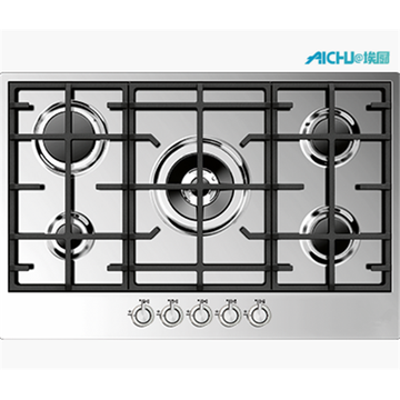 Brass Burner Gas Stove Stainless Steel