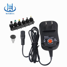 Universal power adapter with 6 dc tips