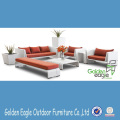 High end modern rattan sofa set