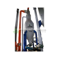 Temperature control biomass fluid bed gasification equipment