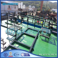 OEM manufacturer custom for Floating Pontoon Platform Steel floating production platform for marine export to Anguilla Manufacturer