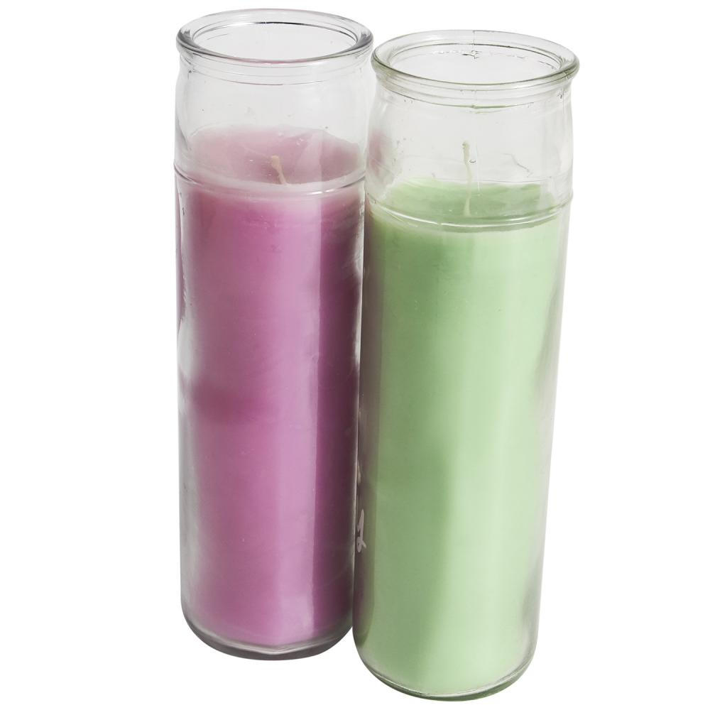 7 Day Glass Candle/Glass Jar Religious Candle Exporters