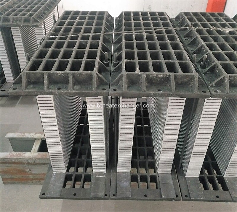 Brazing Fixture for Plate-Fin Heat Exchanger