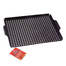 Good Quality for Fish Grill Basket non-stick bbq grill pan supply to France Manufacturer
