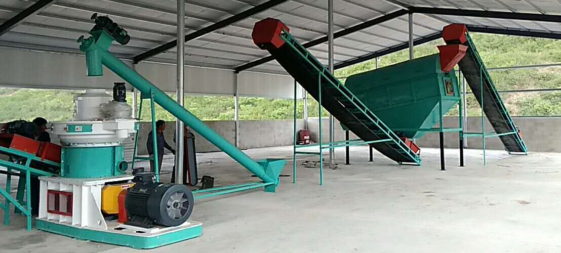 1-2tph pellet production line