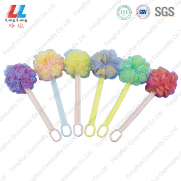 body shower bath Bathroom Brush Sponge with handle