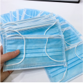 Blue Earloop 3 Ply Disposable Surgical Mask