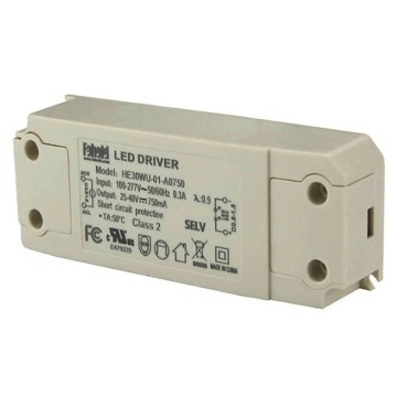 Low Power Consumption 30W LED Downlight Driver
