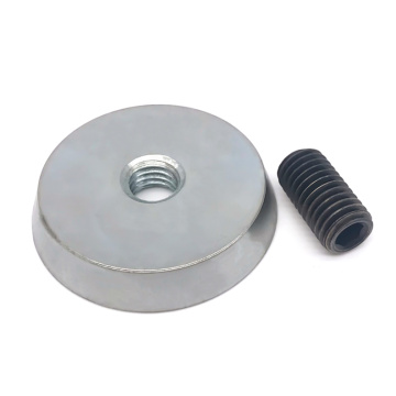 Insert Fixing Magnet With M12 Thread Rods
