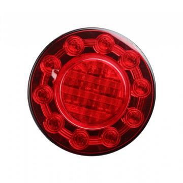 "100% Waterproof 4"" Round E4 LED Truck Bus Tail Lamps"