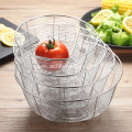 Stainless Steel 304 316 Vegetable/Fruit Draining Basket