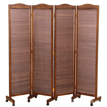 China OEM for CN Blinds wooden screen room divider,Neo-Chinese style solid wood folding indoor decoration wooden screen supply to Gambia Wholesale