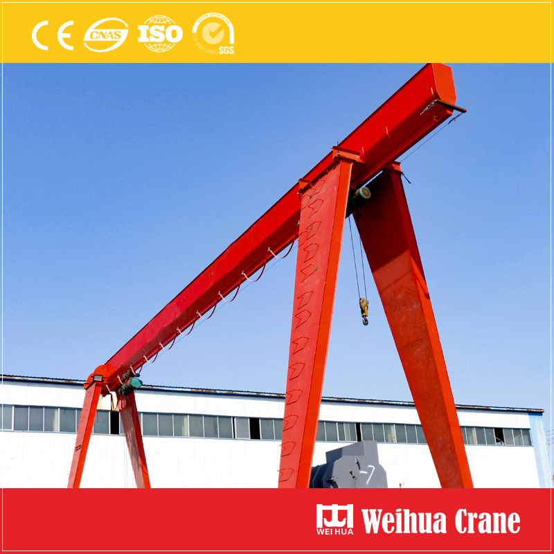 Electric Single Girder Gantry Crane