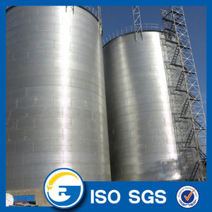 Assemble Bolted Flat Bottom Silo