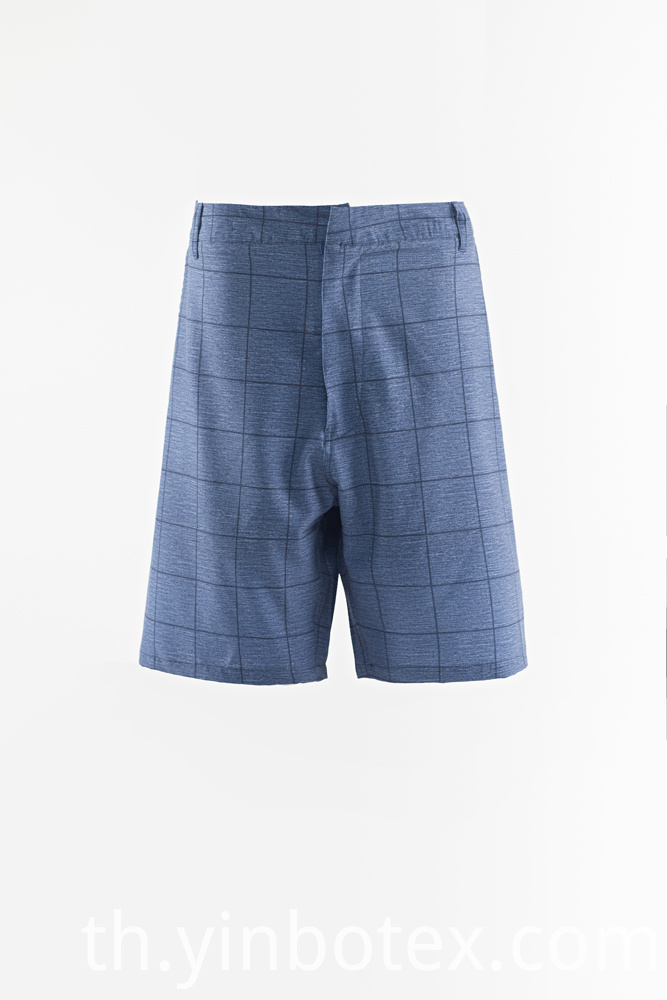 Mens Plaid Short