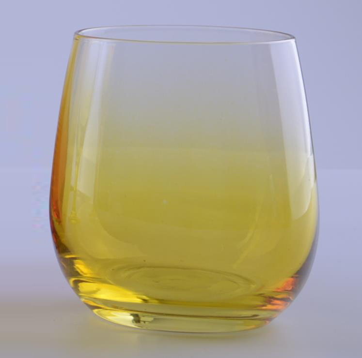 Colored Stemless Glass For Drinking
