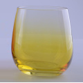 Ombre Colored Stemless Glass For Home