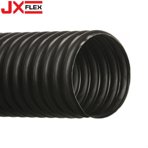 Black Color PVC Reinforced Plastic Suction Hose