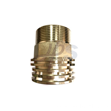 3/8''-4'' Brass Forge PPR Fittings with Nickel Surface