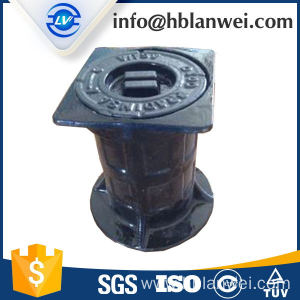 High quality factory for Water Valve Cover cast iron valve box supply to Vietnam Factories