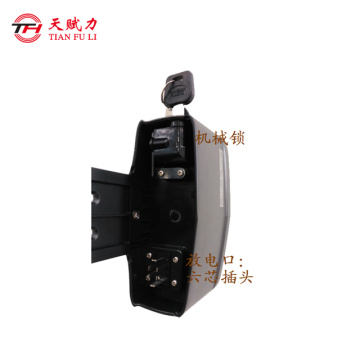 Li ion 48v8.8ah e-bike battery pack