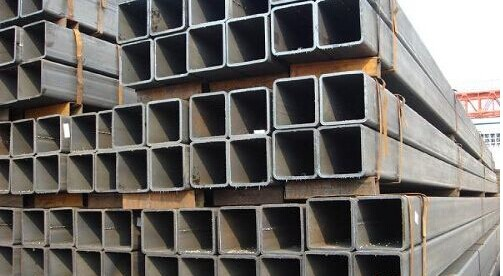 Galvanized square tube and pipe