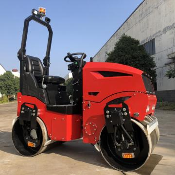 CE 1.2 ton full hydraulic ride-on road roller